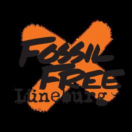 Fossil Free Lüneburg Logo